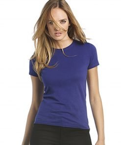 Womens Dark Cotton T-Shirt
