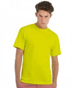 Mens bright coloured cotton t-shirts ireland free shipping personalised logo or crest