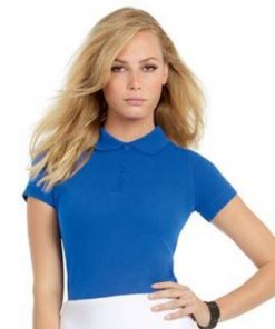 Womens Jersey Knit Polo