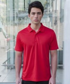 Mens Dark Coloured Sports Polo Shirt
