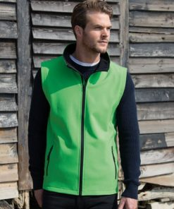 Mens Softshell Bodywarmer