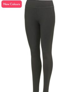 Womens Charcoal Running Leggings