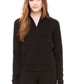 Womens Black Gym Top/Jacket