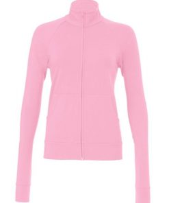 Womens Pink Gym Top/Jacket