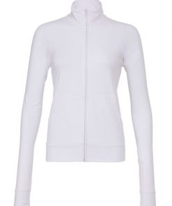Womens White Gym Top/Jacket