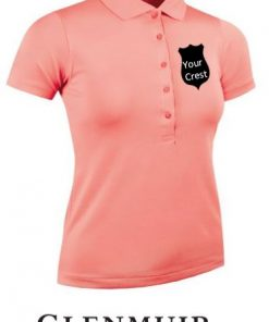 glenmuir ladies golf polo shirt embroidered ireland