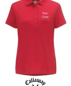 callaway ladies golf polo shirt embroidered ireland