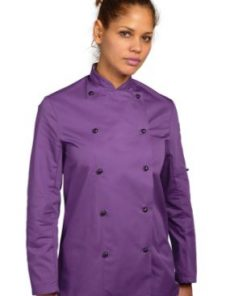 Purple Chefs Jacket