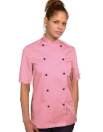 Orchid Short Sleeve Chefs Jacket