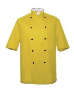 Sunflower Short Sleeve Chefs Jacket