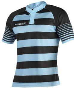 Kooga Blue Hooped Match Shirt