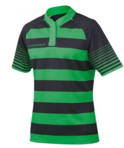 Kooga Green Hooped Match Shirt