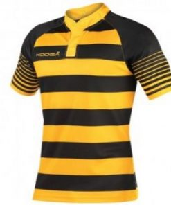 Kooga Yellow Hooped Match Shirt