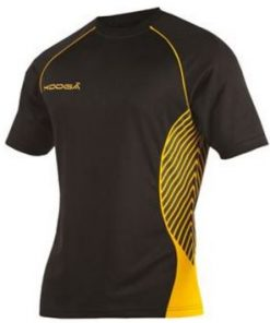 Kooga Yellow Try Panel Match Shirt