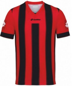 Kids & Adults Red-Black Vertigo Jersey