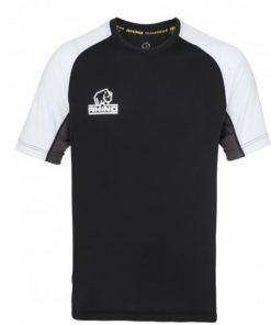 Rhino Black Rugby Training Shirt