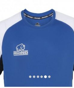 Rhino Blue Rugby Training Shirt
