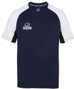 Rhino Navy Rugby Training Shirt