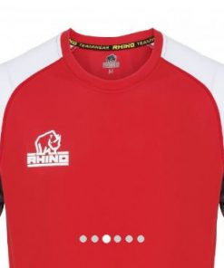 Rhino Red Rugby Training Shirt
