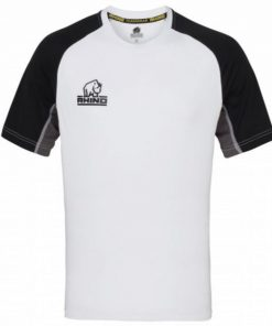 Rhino White Rugby Training Shirt