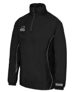 Rhino Black 1/4 Zip Training Jacket