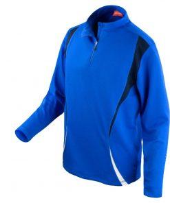 Mens Blue Gym/Training Jacket