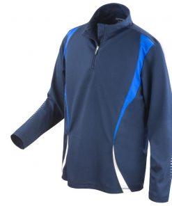 Mens Navy Gym/Training Jacket