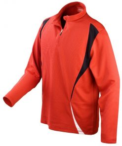 Mens Red Gym/Training Jacket
