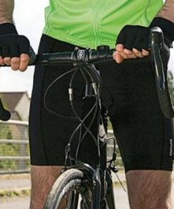 Mens Black Padded Cycling Shorts