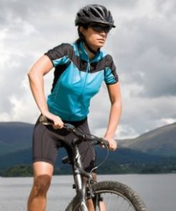 Womens Aqua Cycling Top
