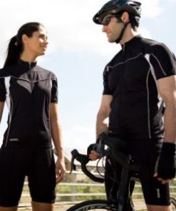 Womens Black Cycling Top