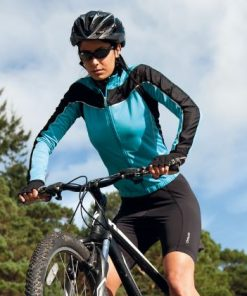 Womens Aqua Performance Cycling Top