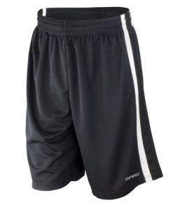 Mens Black Gym Shorts