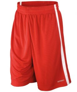 Mens Red Gym Shorts