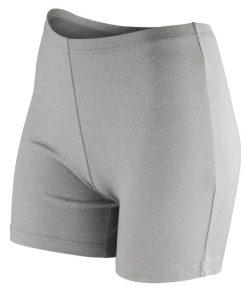 Womens Grey Gym Shorts