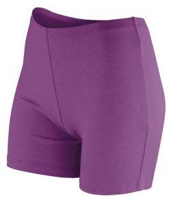 Womens Grape Gym Shorts