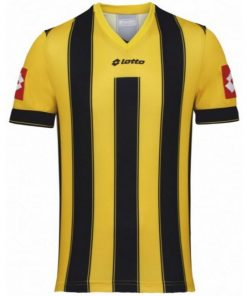 Kids & Adults Yellow-Black Vertigo Jersey