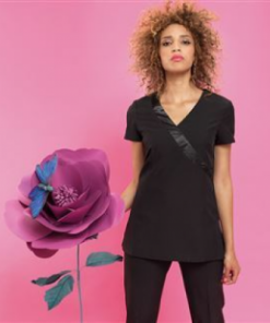 Rose Beauty & Spa Panelled Tunic