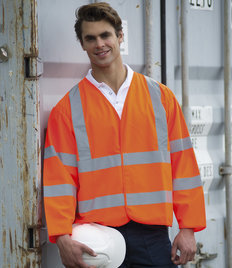 RTY Workwear Hi Vis Motorway Coat